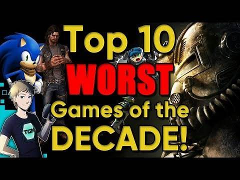 Top 10 WORST Games of the DECADE! (2010-2019) - Tealgamemaster