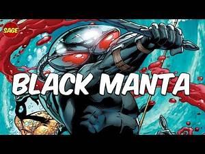 """Who is DC Comics Black Manta? Evil """"Batman"""" of the Sea."""