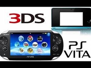 Playstation Vita vs. Nintendo 3DS Full Comparison Design/Price/Features/Games