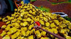 I Turned A Mountain Of Gold Into A Single Necklace in Hydroneer