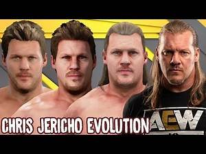 Chris Jericho Ratings and Entrance Evolution (WCW Nitro - WWE 2K19)