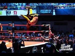 AAA - Mesias vs. Pagano vs. Angelico - 16 Julio 2017