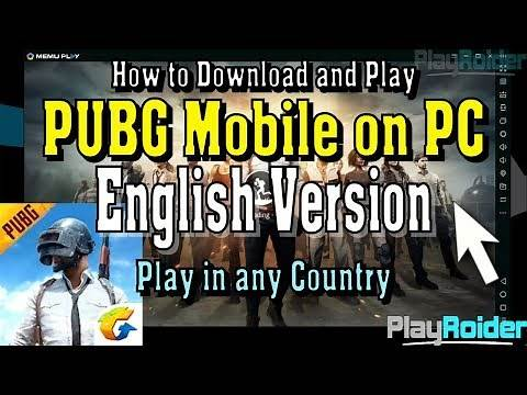 How to Play PUBG Mobile on PC English Mouse and Keyboard Setup (100% Working)