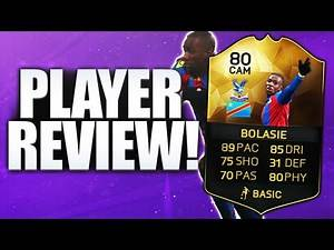IF BOLASIE STRIKER PLAYER REVIEW!!! FIFA 16 ULTIMATE TEAM