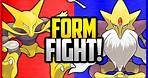 Alakazam vs Mega Alakazam   Pokémon Form Fight