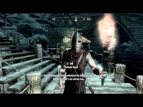 Skyrim - Dark Brotherhood Quests - Hail Sithis! (1/3)