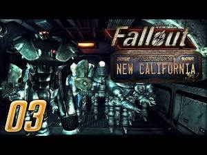 How To Build A Robot Army and Beat The Enclave- Fallout New California (NCR Scientist) #3