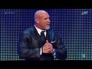 WWE HALL OF FAME 2018 - Goldberg - WWE WRESTLEMANIA 34
