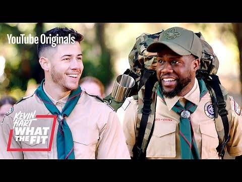 Scouting with Nick Jonas and Kevin Hart