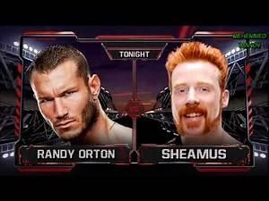 Wwe Raw 2014 New Version Match Card