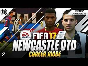 FIFA 17 NEWCASTLE UTD CAREER MODE! EP.2 - CONFIRMED TRANSFERS!?