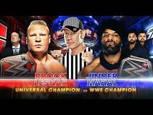 Brock Lesnar Vs Jinder Mahal Match Prediction At WWE Survivor Series 2017 Highlights Match Card
