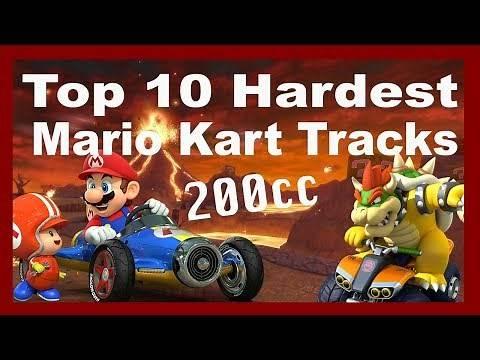 Top 10 Hardest Mario Kart 8 Deluxe Courses