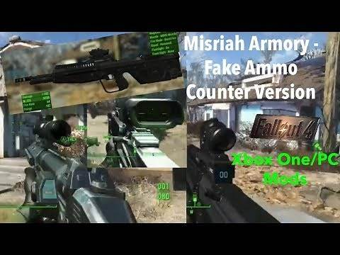 Fallout 4 Xbox One/PC Mods|Misriah Armory - Fake Ammo Counter Version