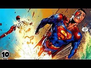 Top 10 Superheroes Who Lost To Superman