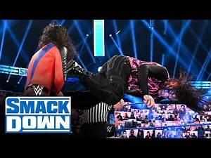 Jeff Hardy vs. Shinsuke Nakamura – Intercontinental Championship Match: SmackDown, August 28, 2020