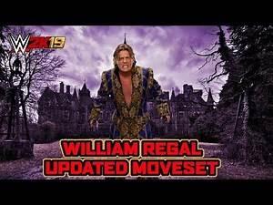 WWE 2K19 William Regal Updated Moveset