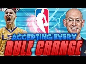 ACCEPTING EVERY RULE CHANGE CHALLENGE!!! NBA 2K17 MY LEAGUE REBUILD!!!