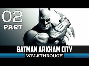 Batman Arkham City Gameplay Walkthrough Part 2 - Fake Joker Gag