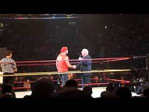 Ric Flair emotional speech to Hulk Hogan about his sons death