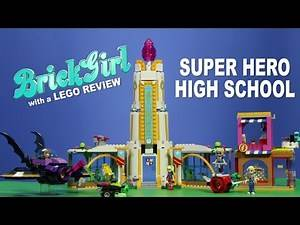 DC Superhero Girls LEGO Super Hero High School Brick Girl Review