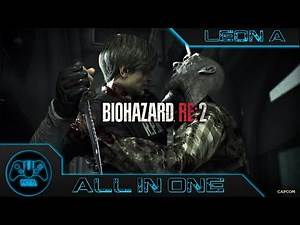Resident Evil 2 - Leon A - All In One