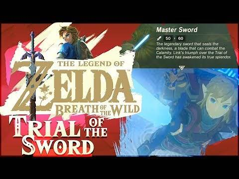 Trial of the Sword DLC 100% | The Legend of Zelda: Breath of the Wild! [ALL 45 ROOMS]