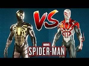 Spider-Man Ps4 - Anti Ock Sui Vs. 2099 Suit