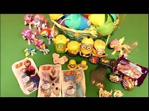Surprise Eggs | Surprises Toys | Disney | Minions | My Little Pony | Disney Frozen | Easter Eggs