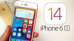 iOS 14 on iPhone 6S - The OLDEST iPhone Struggles..