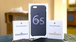 Apple iPhone 6s Case & Lightning Dock Review!