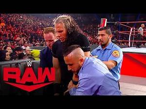 Unaired footage of Matt Hardy after Viper attack: Raw Exclusive, Feb. 10, 2020