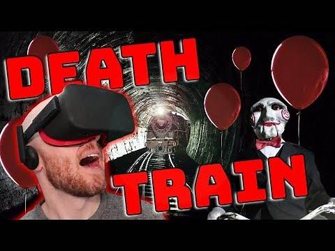 THE MOST INTENSE VR GAME!! Death Train VR Oculus Rift & Oculus Touch Gameplay