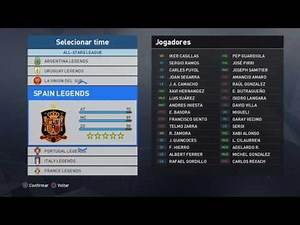 Pro Evolution Soccer 2017 PS4 - Patch All-Stars Classic League