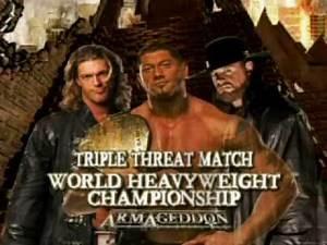 WWE Armageddon 2007 - Batista vs Edge vs The Undertaker Promo