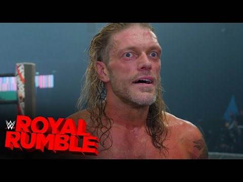 Edge overcome with emotion after unbelievable Royal Rumble win: Royal Rumble Exclusive, Jan 31, 2021