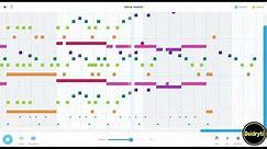 Undertale - Megalovania On Chrome Music Lab Song Maker