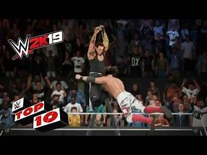 Gut-wrenching and savage Spears: WWE 2K19 Top 10