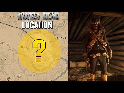 Legendary Owiza Bear Location In Red Dead Online! - Owiza Bear Garment RDR2