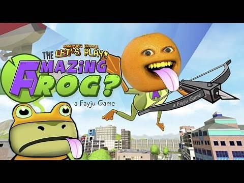 Annoying Orange Plays - Amazing Frog #1