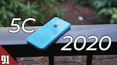 Using the iPhone 5C in 2020 - Review