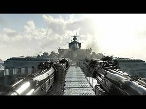 Dynamic Shootout on Nazi Flying Battleship ! In WW2 FPS Game Wolfenstein 2