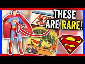 RARE SUPERMAN TOYS WORTH MONEY - RARE ITEMS TO LOOK FOR AT GARAGE SALES!!