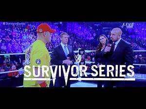 WWE Survivor Series 2014 Vince Mcmahon John Cena The Authority Segment Review Commentary