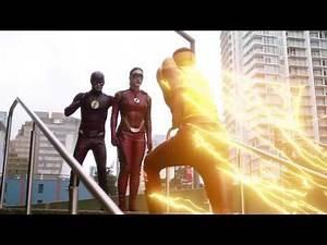 The Flash 3x15 Opening Scene The Flash, Jesse Quick Kid Flash Training