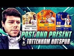 PAST AND PRESENT TOTTENHAM HOTSPUR SQUAD BUILDER - FIFA 16 Ultimate Team - MOTM BALE