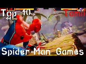 Top 10 Spider-Man Games For Android and IOS in Tamil