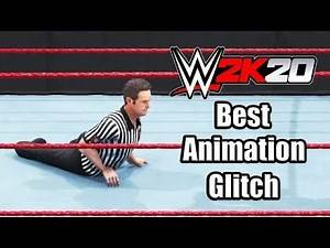 WWE 2K20 THE FUNNIEST GLITCH COMPILATION 😂