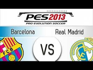 [TTB] PES 2013 Barcelona Vs Real Madrid - Playthrough Commentary, Superstar Difficulty