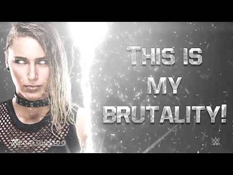 """Rhea Ripley Official WWE Entrance Theme Song - """"Brutality"""" with download link and lyrics!"""